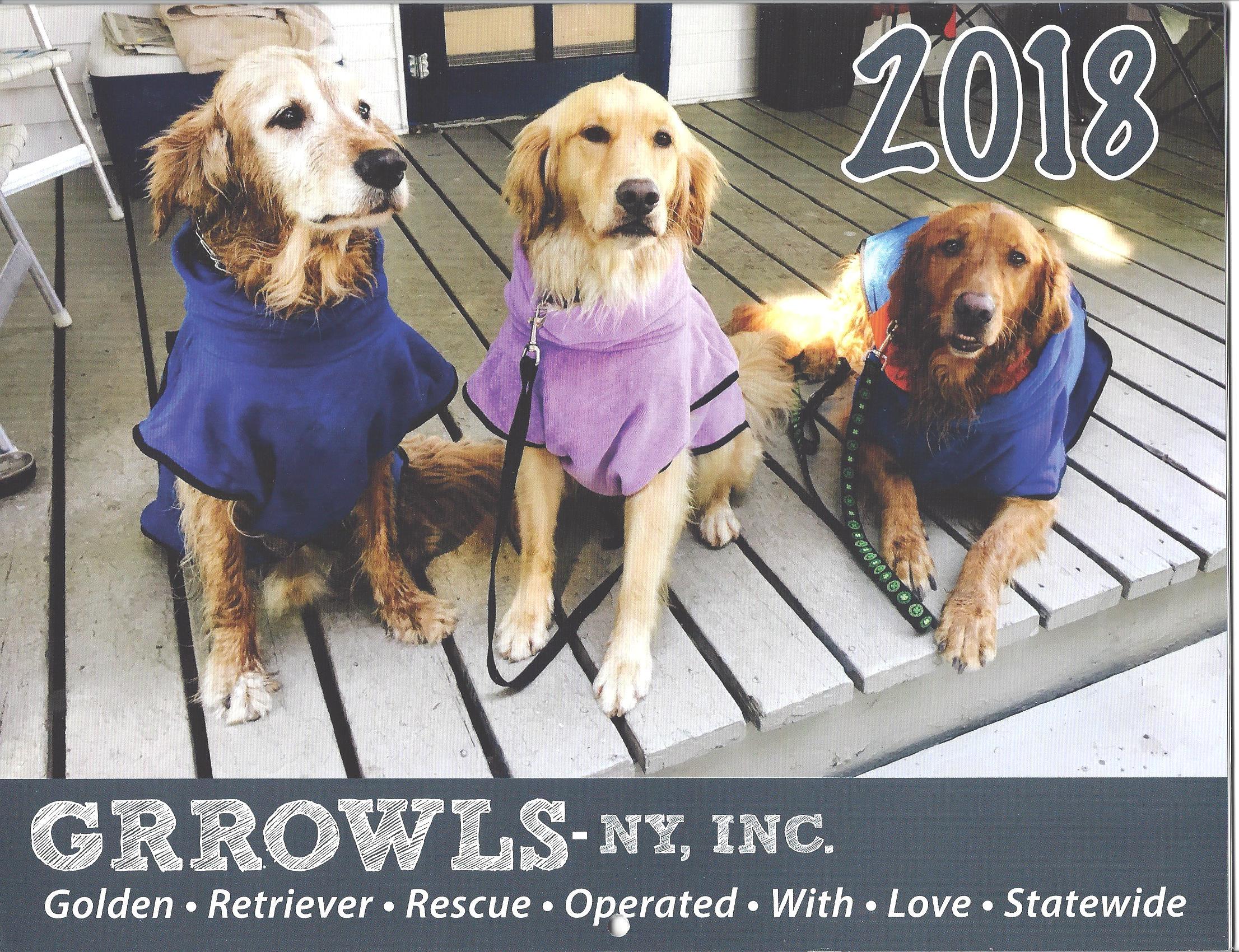 2018 GRROWLS Calendar
